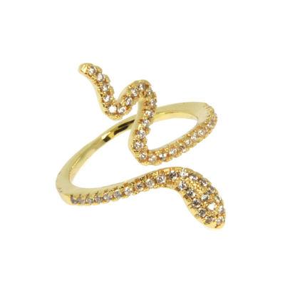 Slange ring med sten