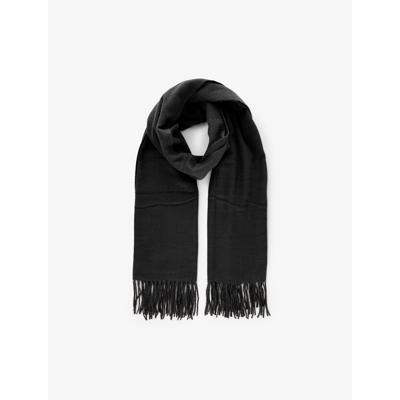 Pckial halstørklæde m. sildebensstrik