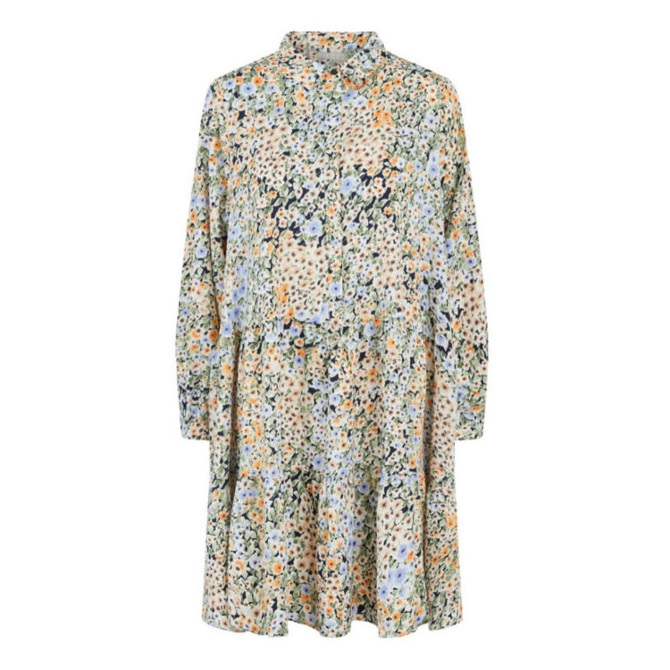 Pcakija kjole m. blomster
