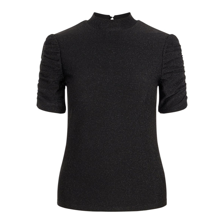 Pcrina puff t-shirt m. glimmer