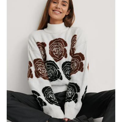 Sweater m. rose