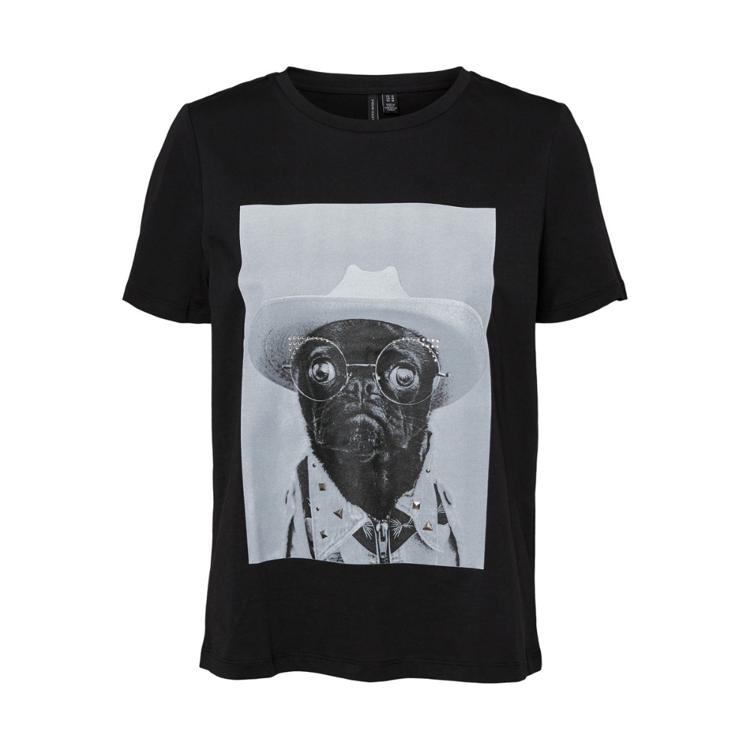 Vmlizolly t-shirt m. print