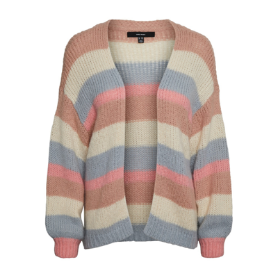 Vmmaby stripe open cardigan