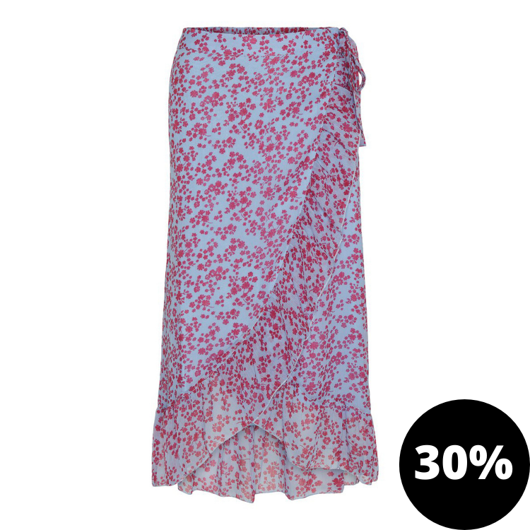 Vmwonda wrap skirt