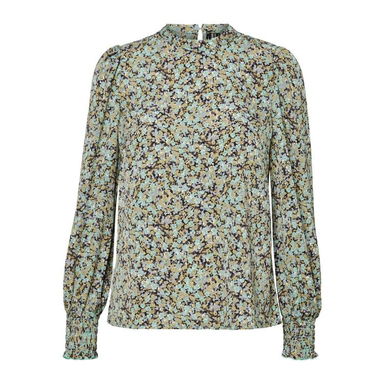 Vmsoffy bluse med pufærmer