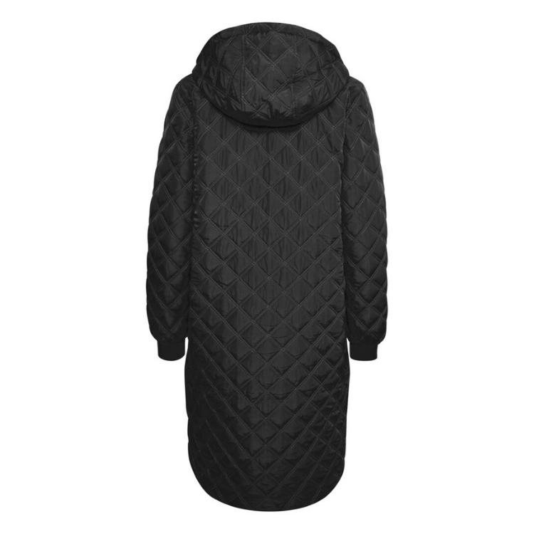 Kajulie quilted jakke m. hætte