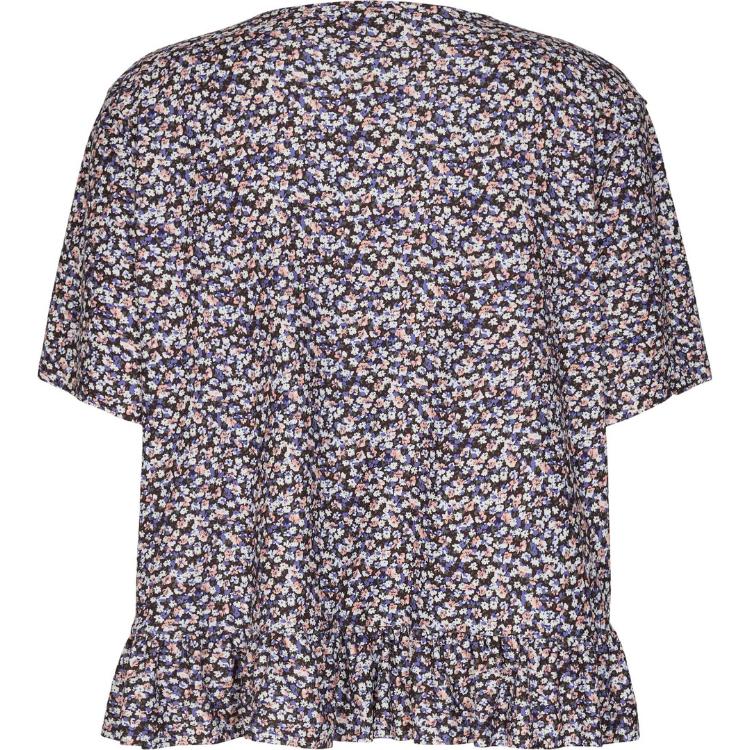 Alma frill t-shirt m. flæs
