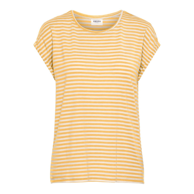 Vmava plain stribet tee