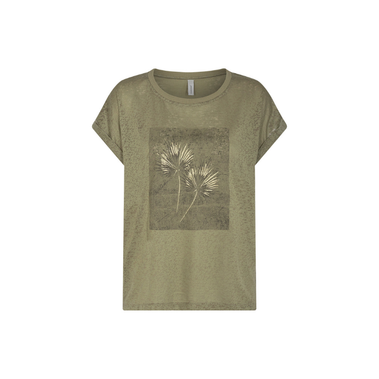 Sc-panik t-shirt med tryk