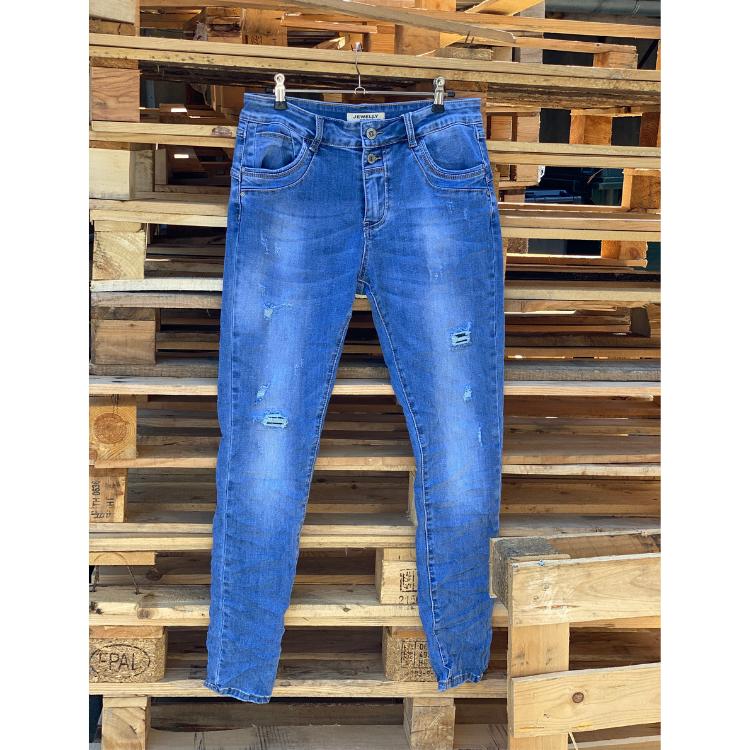 Jewelly ladies jeans