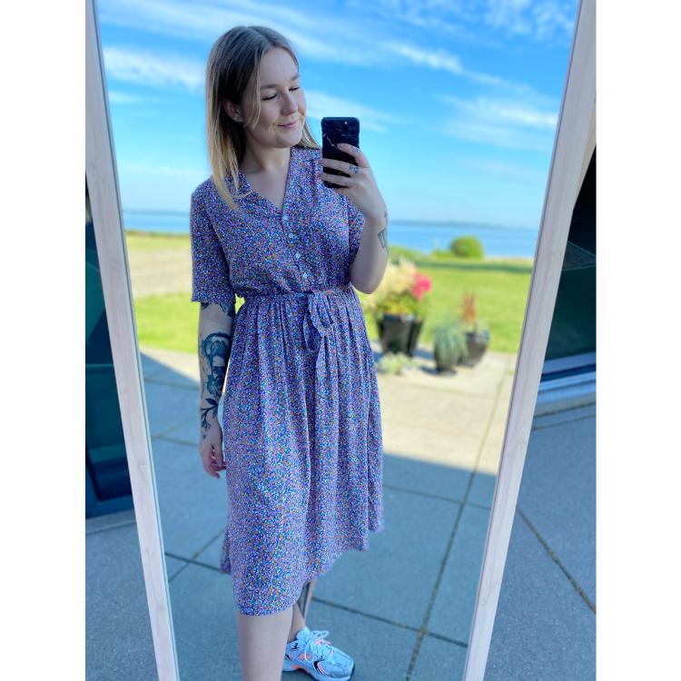 Pctimberly midi kjole