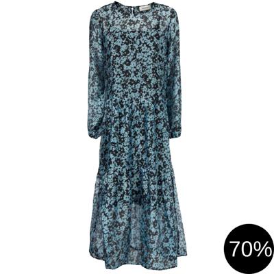 Honny print kjole