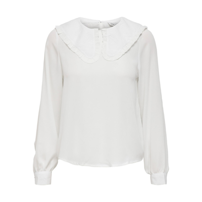 Onltuesday cloud collar bluse